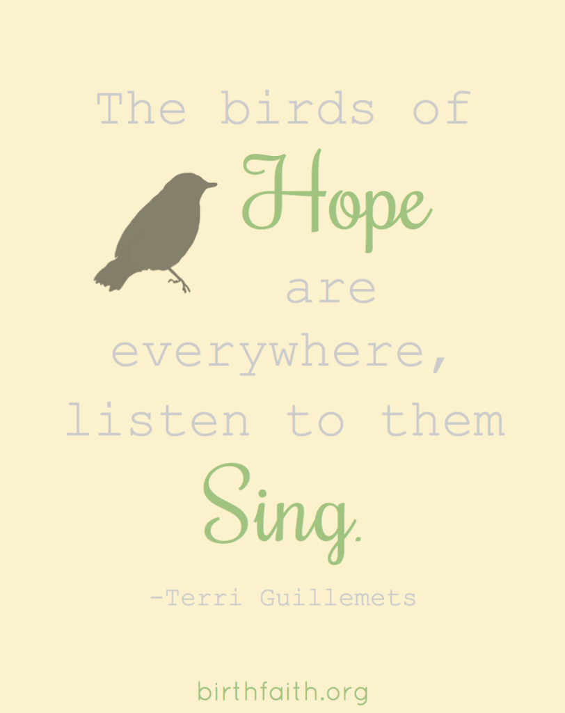 birds of hope
