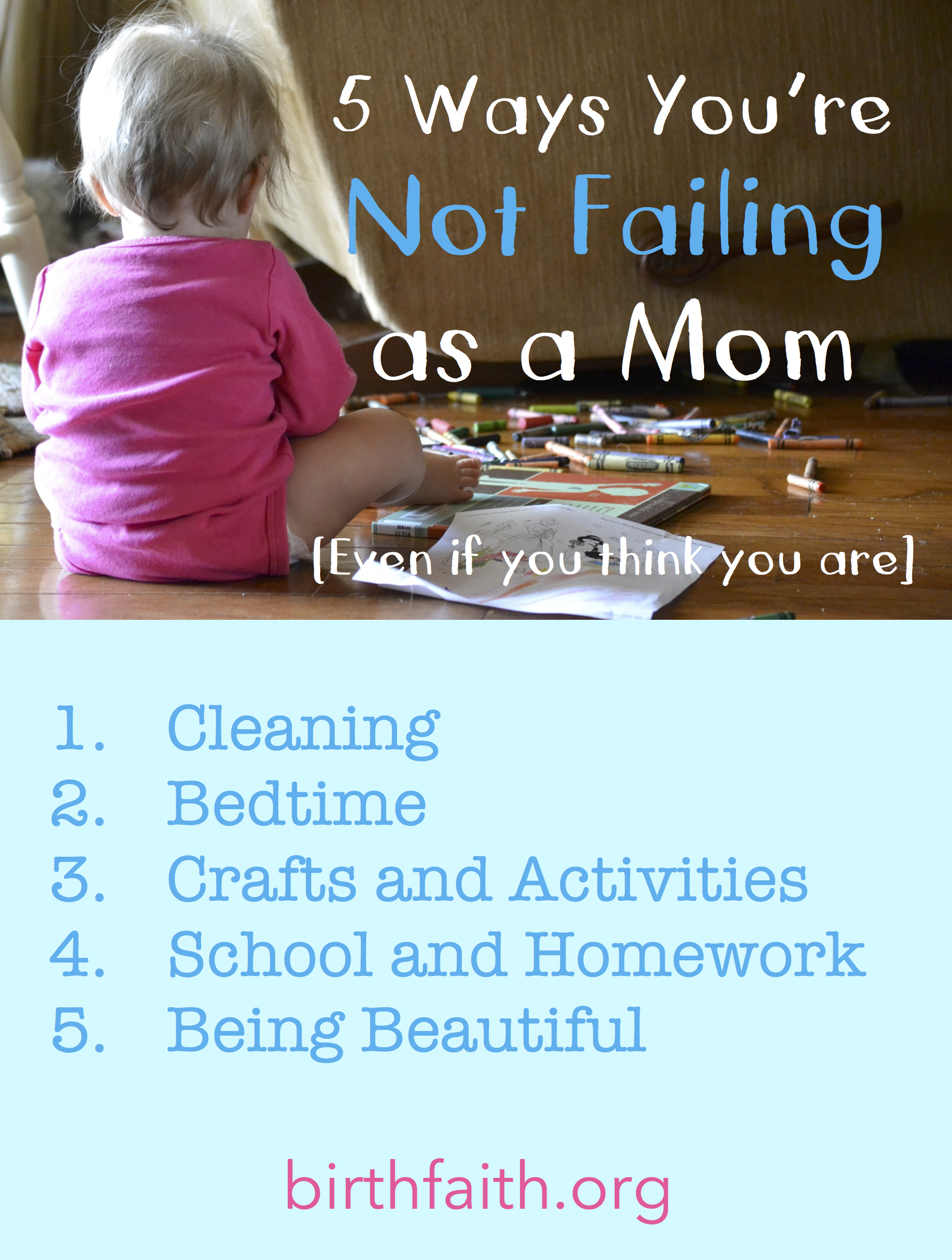 Birth faith a better birthing experience part 3 5 ways you arent failing as a mom2 fandeluxe