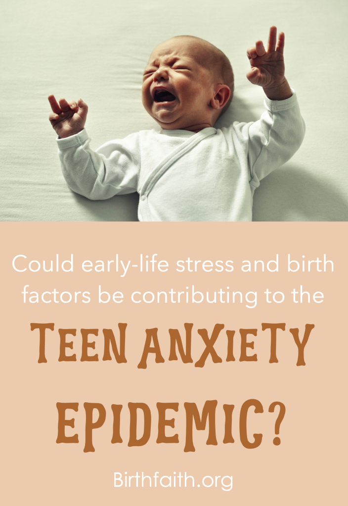 Teen Anxiety Epidemic graphic